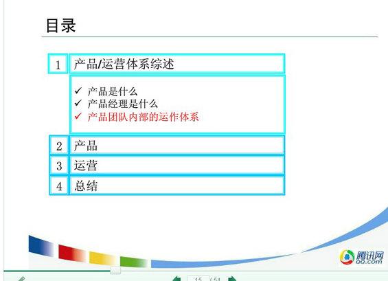 chanpin15 从产品经理的视角解析腾讯的产品运营