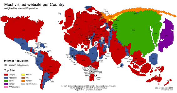 jutou 几大巨头就这么瓜分了全球互联网版图