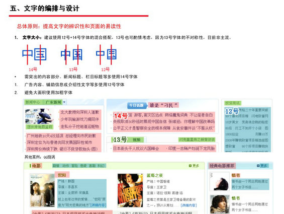tengxun12 腾讯网Web页面设计规范
