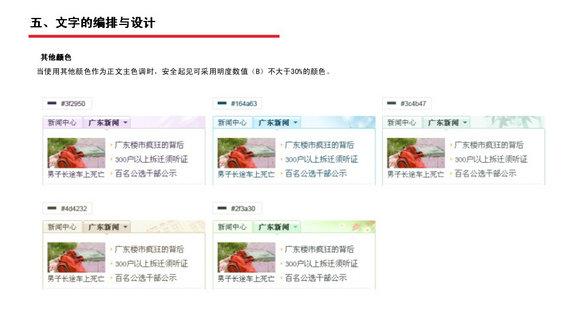 tengxun16 腾讯网Web页面设计规范