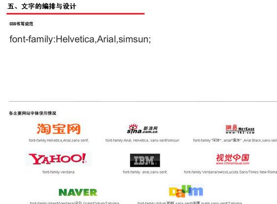 tengxun20 腾讯网Web页面设计规范