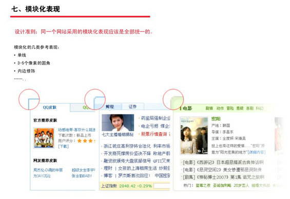 tengxun25 腾讯网Web页面设计规范