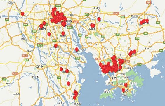 beishangguang5 北上广互联网创业者分布图