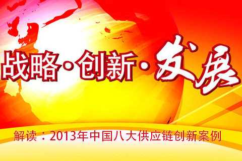 2013中国八大供应链创新案例